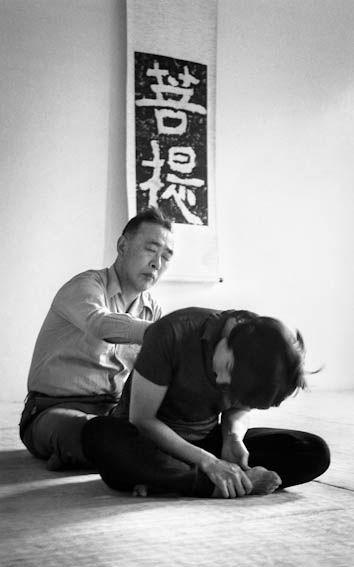 Yuki durante il Katsugen undo mutuale. Itsuo Tsuda. Foto di Eva Rodgold©