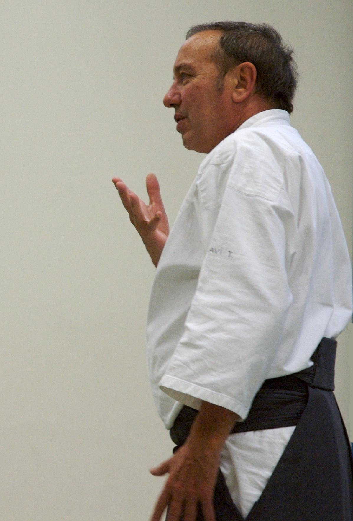 Per Régis Soavi, l'Aikido, è l'approfondimento della percezione del ki.